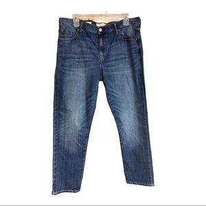 GAP,women'sBest girlfriend jeans,31 R, distressed